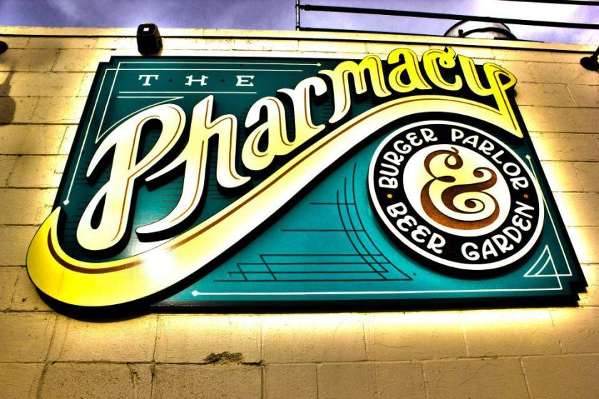 The Pharmacy Burger Parlor & Beer Garden: Photo Property of Local Forkful food blog