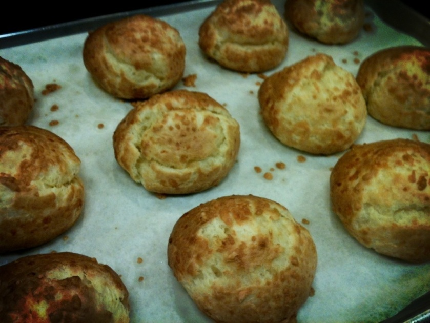 Alain Ducasse Cheese Gougeres