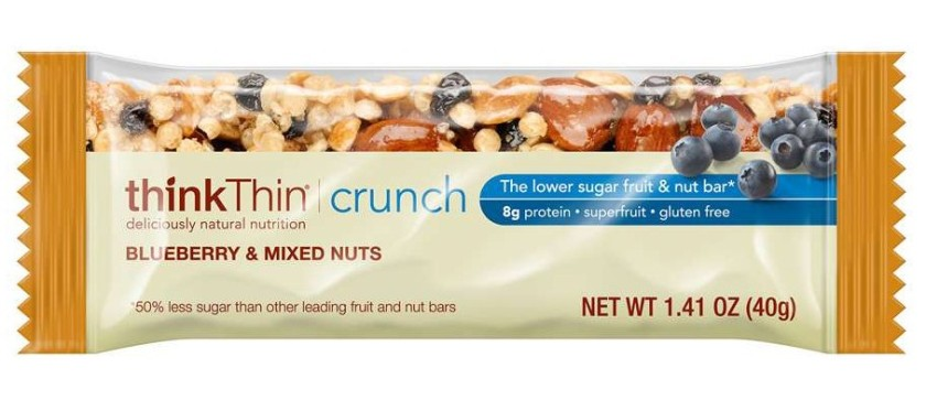 thinkTHIN Blueberry and Mixed Nuts