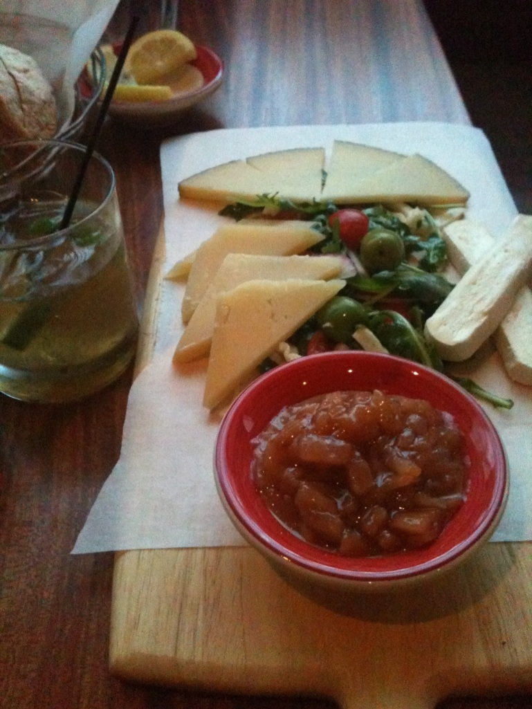 The Cheese Plate at Sardinia Enoteca Ristorante in Nashville: Review by The Local Forkful