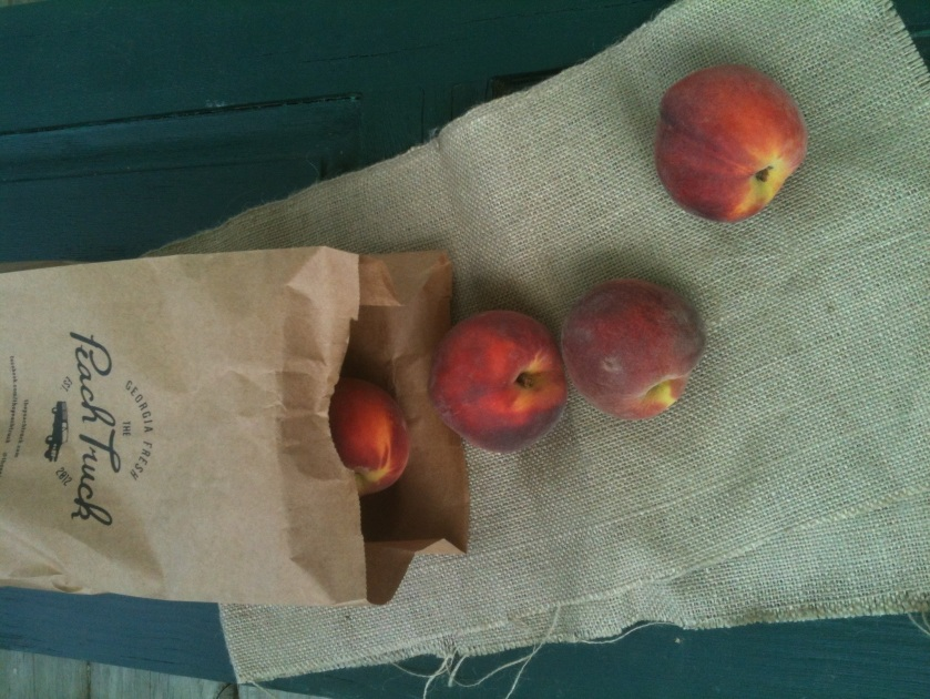 The Peach Truck Peaches: Photo by The Local Forkful