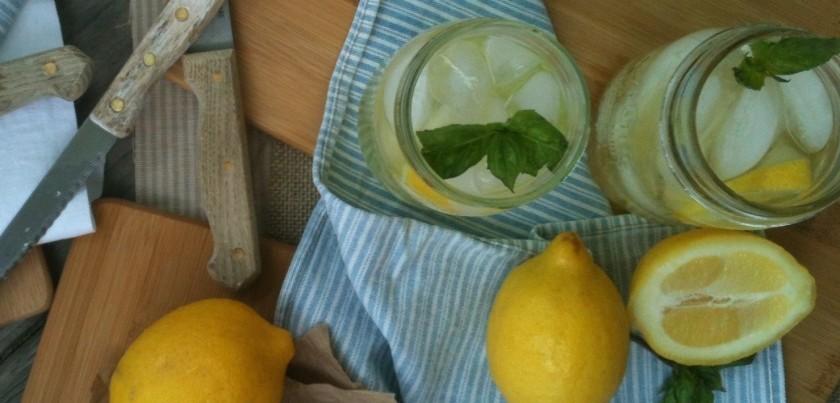Sweet Basil Lemonade: Recipe by The Local Forkful