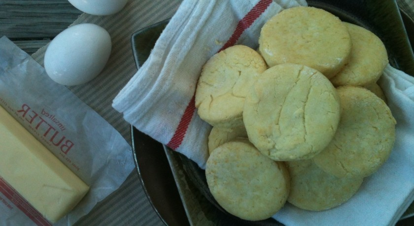 Gluten free biscuits: recipe by The Local Forkful