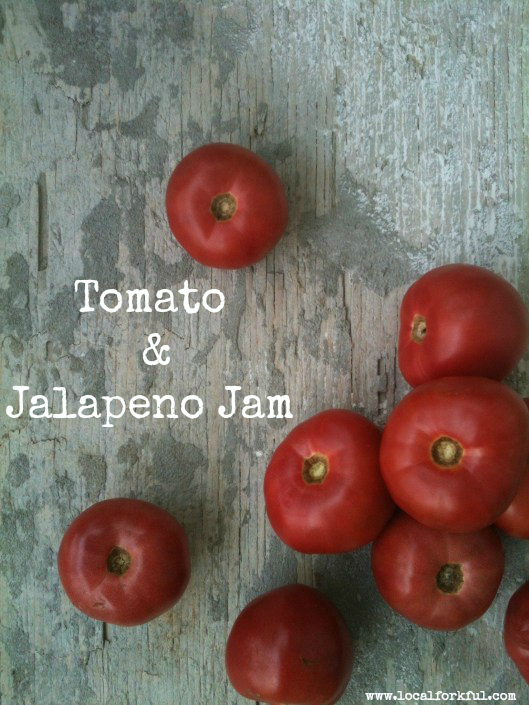 Tomato & Jalapeno Jam: Recipe by The Local Forkful