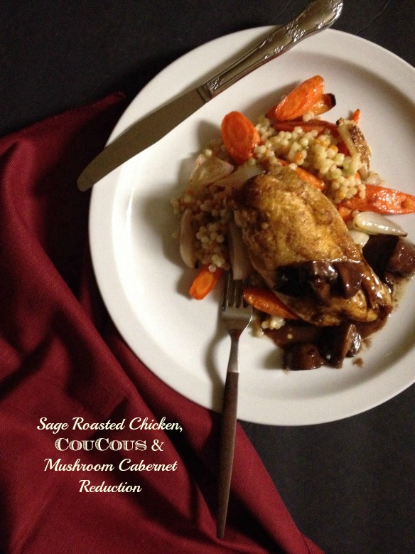 Sage Roasted Chicken : Recipe by The Local Forkful