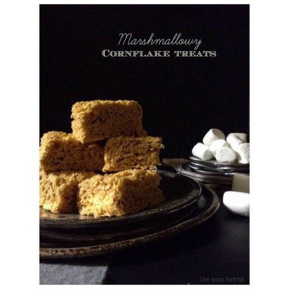 Marshmallowy Cornflake Treats