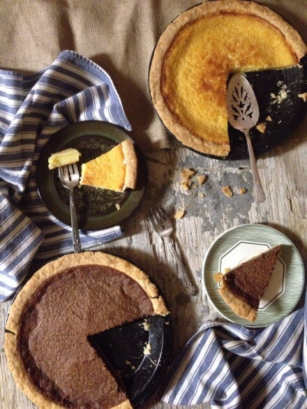 Homemade Buttermilk Pie & Basic Pie Dough via The Local Forkful