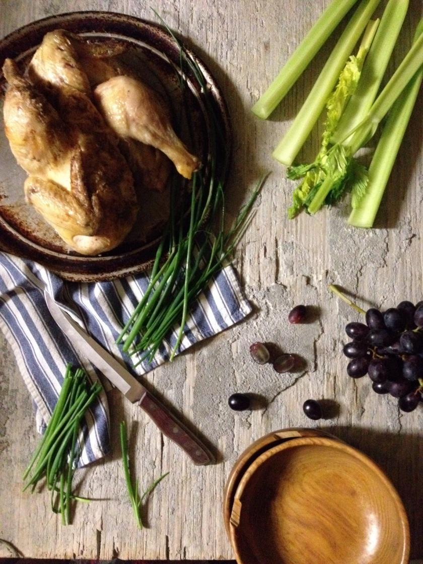 "Summer Chicken Salad & ""My Writing Process Blog Tour"""