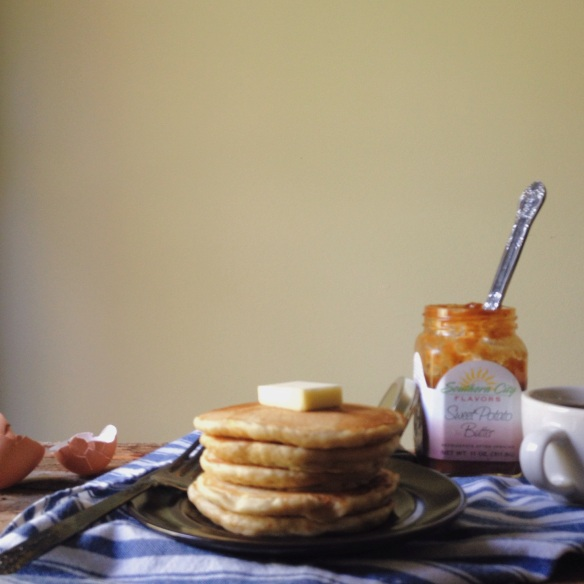 Sweet Potato Pancakes with Southern City Flavors Sweet Potato Butter