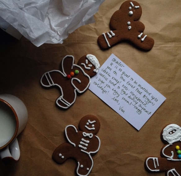 Gingerbread Cookies via The Great Food Bloggers Cookie Swap