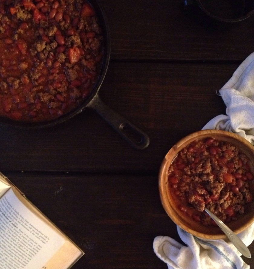 Cast-Iron Chipotle Chili
