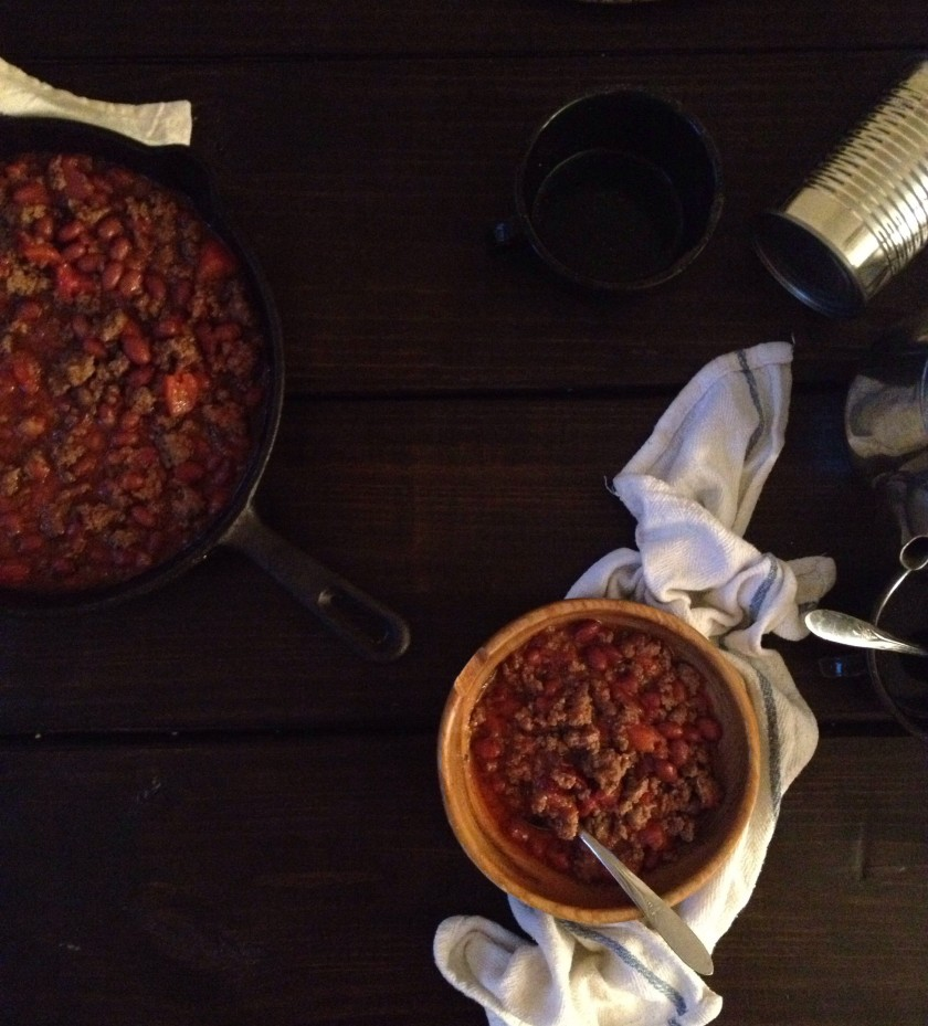 Cast-Iron Skillet Chipotle Chili