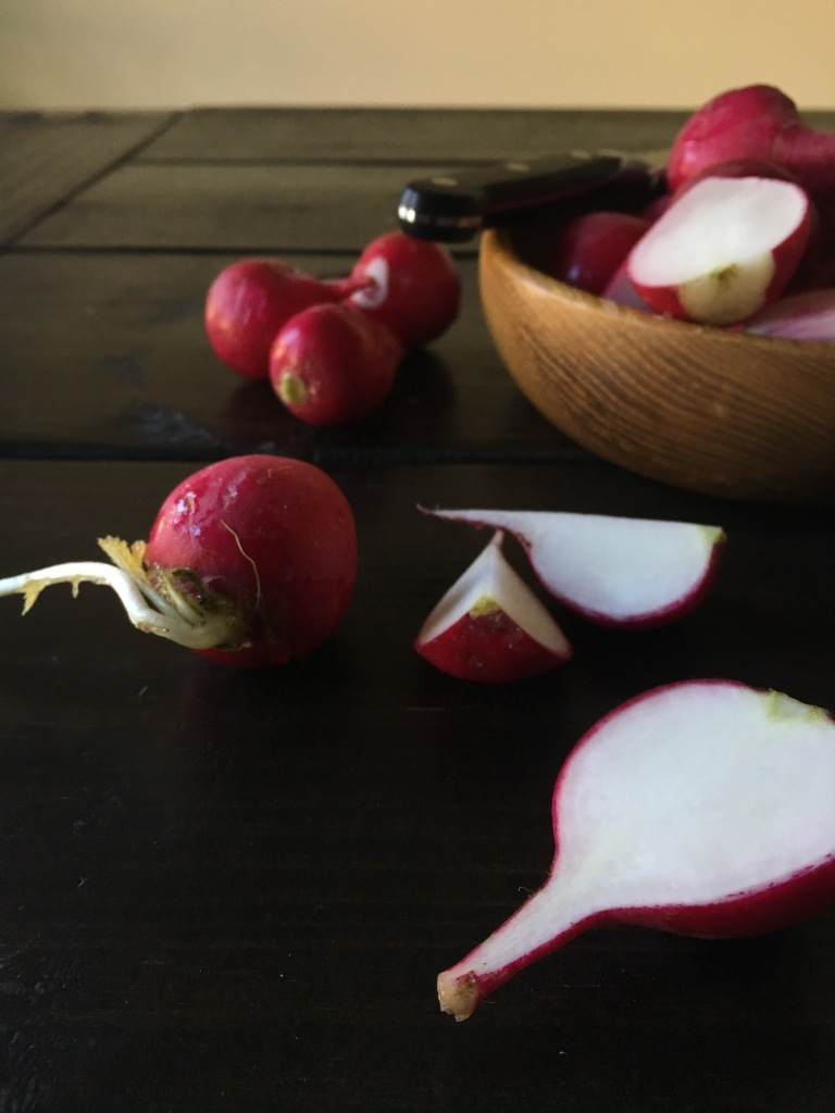 roasted radishes, The Salted Table, food blog, personal chef, caterer, eat local